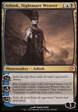 Magic the Gathering Theros Single Ashiok, Nightmare Weaver - SLIGHT PLAY (SP)