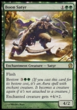 Magic the Gathering Theros Single Boon Satyr - MODERATE PLAY (MP)