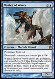 Magic the Gathering Theros Single Master of Waves - SLIGHT PLAY (SP)