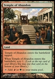 Magic the Gathering Theros Single Temple of Abandon - SLIGHT PLAY (SP)