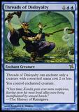 Magic the Gathering Betrayers of Kami Single Threads of Disloyalty - SLIGHT PLAY (SP)
