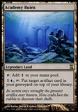 Magic the Gathering Time Spiral Single Academy Ruins FOIL - SLIGHT PLAY (SP)