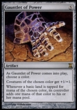 Magic the Gathering Time Spiral Single Gauntlet of Power - SLIGHT PLAY (SP)