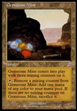 Magic the Gathering Time Spiral Single Gemstone Mine - MODERATE PLAY (MP)
