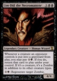 Magic the Gathering Time Spiral Single Lim-Dul the Necromancer FOIL - SLIGHT PLAY (SP)