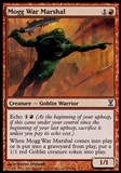 Magic the Gathering Time Spiral Single Mogg War Marshal FOIL - SLIGHT PLAY (SP)