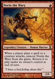 Magic the Gathering Time Spiral Single Norin the Wary - SLIGHT PLAY (SP)