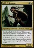 Magic the Gathering Time Spiral Single Saffi Eriksdotter FOIL - SLIGHT PLAY (SP)