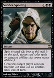 Magic the Gathering Time Spiral Single Sudden Spoiling FOIL - SLIGHT PLAY (SP)