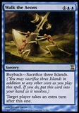 Magic the Gathering New Phyrexia Single Walk the Aeons FOIL - SLIGHT PLAY (SP)