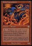 Magic the Gathering Torment Single Grim Lavamancer - SLIGHT PLAY (SP)