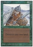 Magic the Gathering Unlimited Single Ice Storm - MODERATE PLAY (MP)