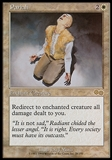 Magic the Gathering Urza's Saga Single Pariah - SLIGHT PLAY (SP)