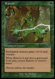 Magic the Gathering Urza's Legacy Single Rancor - SLIGHT PLAY (SP)
