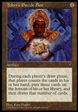 Magic the Gathering Visions Single Teferi's Puzzle Box - SLIGHT PLAY (SP)