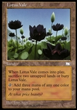 Magic the Gathering Weatherlight Single Lotus Vale - MODERATE PLAY (MP)