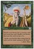 Magic the Gathering 6th Edition Single Worldly Tutor - SLIGHT PLAY (SP)