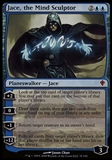 Magic the Gathering Worldwake Single Jace, the Mind Sculptor - MODERATE PLAY (MP)