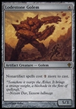 Magic the Gathering Worldwake Lodestone Golem FOIL - SLIGHT PLAY (SP)
