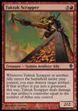 Magic the Gathering Worldwake Single Tuktuk Scrapper FOIL - NEAR MINT (NM)