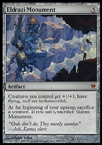 Magic the Gathering Zendikar Single Eldrazi Monument FOIL - SLIGHT PLAY (SP)