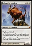 Magic the Gathering Zendikar Single Felidar Sovereign - SLIGHT PLAY (SP)