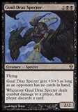 Magic the Gathering Zendikar Single Guul Draz Specter FOIL - NEAR MINT (NM)
