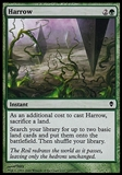 Magic the Gathering Zendikar Single Harrow FOIL - NEAR MINT (NM)