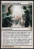 Magic the Gathering Zendikar Single Luminarch Ascension FOIL - SLIGHT PLAY (SP)