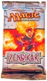 Magic the Gathering Zendikar Booster Pack - FETCH LANDS !!!