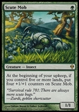 Magic the Gathering Zendikar Single Scute Mob - SLIGHT PLAY (SP)