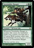 Magic the Gathering Zendikar Single Turntimber Ranger Foil - NEAR MINT (NM)