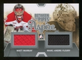 2012/13 In the Game Between The Pipes Aspire Jerseys Silver #ASP06 Matt Murray/Marc-Andre Fleury /140