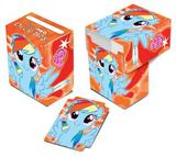 Ultra Pro My Little Pony Rainbow Dash Orange Full View Deck Box - Regular Price $2.99 !!!