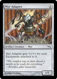 Magic the Gathering Mirrodin Single Myr Adepter FOIL