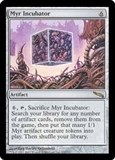 Magic the Gathering Mirrodin Single Myr Incubator FOIL