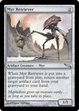 Magic the Gathering Mirrodin Single Myr Retriever FOIL