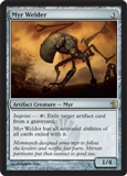 Magic the Gathering Mirrodin Besieged Single Myr Welder UNPLAYED (NM/MT)
