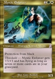 Magic the Gathering Time Spiral Single Mystic Enforcer UNPLAYED (NM/MT)