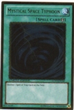 Yu-Gi-Oh Gold Series 3 Single Mystical Space Typhoon (GLD3-EN040) - MODERATE PLAY (MP)