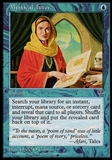 Magic the Gathering Mirage Single Mystical Tutor - MODERATE PLAY (MP)