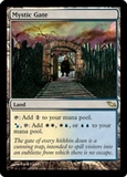 Magic the Gathering Shadowmoor Single Mystic Gate - SLIGHT PLAY (SP)