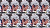 2015 Upper Deck All-Star Game Rick Nash 5 X 7 Card New York Rangers (Lot of 10)