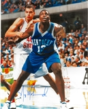 Nazr Mohammed Autographed Kentucky Wildcats 8x10 Photo (Press Pass)