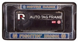 Rico Tag Notre Dame Fighting Irish Domed Chrome Licensed Plate Frame