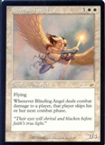 Magic the Gathering Nemesis Single Blinding Angel UNPLAYED (NM/MT)