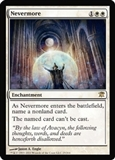 Magic the Gathering Innistrad Single Nevermore UNPLAYED (NM/MT)