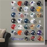 Fathead NFL Helmets Collection Wall Graphics