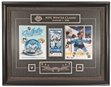 Sidney Crosby Autographed Pittsburgh Penguins Winter Classic Framed Photo (Frameworth)