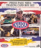 2005 Press Pass NHRA Drag Racing Hobby Box Set